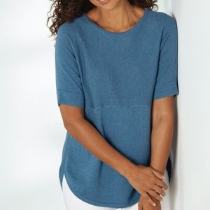 SOFT SURROUNDINGS Touch of Cashmere Pullover Tunic